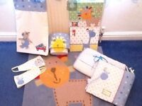 Next baby boys nursery set immaculate condition
