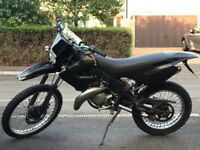 Accepting offers DERBI SENDA X-RACE FAST AND A GOOD DEAL , BRILLIANT FIRST BIKE