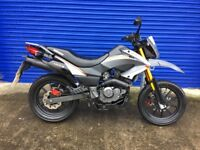 MINT LATE REGISTERED 2015 KEEWAY TXM 125cc SUPERMOTO , LOW MILES , HPI CLEAR
