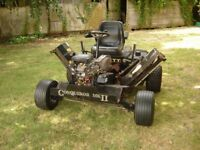 Allett Conquerer MK 2 ride on 16hp lawnmower, Recent NEW engine ideal for large gardens