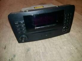 Mercedes car audio unit
