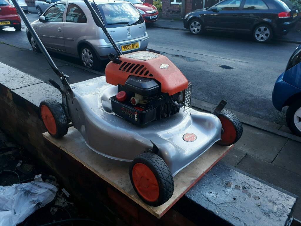 Petral lawnmower