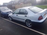 honda civic 1.4 mot and insured to get you home