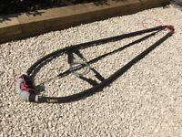Hawaian Pro Line (HPL) Slalom windsurf boom (183-239cm) plus harness lines, boom bra and uphaul