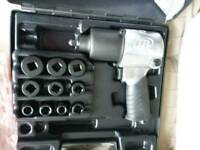 Ingersoll Rand impactool & socket set 1/2inch