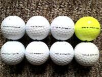 8 Srixon Zstar golf balls in excellent condition