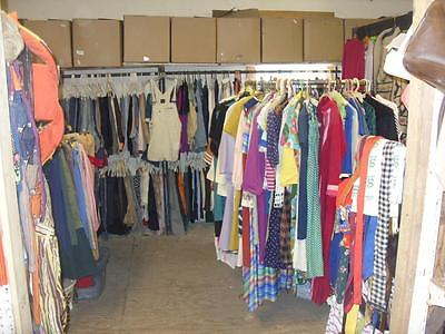 Business Opportunity To Have A Vintage Clothing Store Inventory Of Two Stores