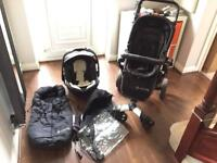Concord Neo Card Seat and Pram/Pushchair