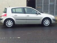 08 renault megane 1.4 dynamique.5 door hatchback.*low mileage 41000 miles *