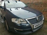 Vw passatt tdi highline leather Diesel 58 reg