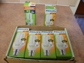 Philips Energy Saving Lightbulbs x 6
