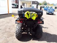 Road legal quad with back box