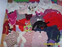 BUNDLE OF GIRL CLOTHES 1-2 YEARS