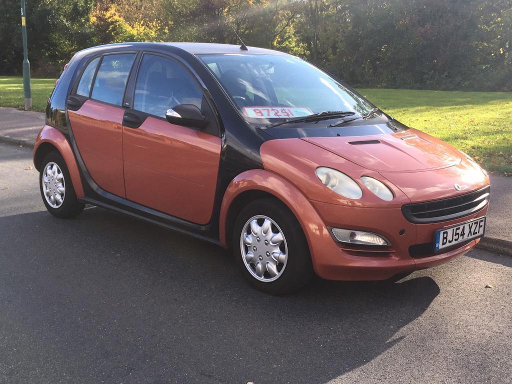 Smart Four 1 5 Diesel 4 Door 2004 54 Reg 30 Road Tax
