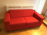 Large Red Sofa!! £70