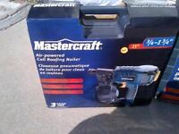 air powered roofing coil nailer