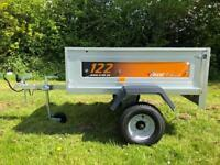 EX Display Erde 122 Classic Trailer Camping Carboot Tip Garden Tipper Trailor Halfords 400KG