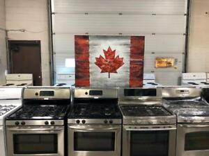 ASSORTED GAS RANGES- 1 YEAR WARRANTY