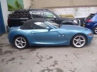 BMW Z4 2.5i,convertible,full electric heated seats,split rim alloys,runs and drives very nicely