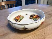 Aynsley Orchard Gold Fruit Bowl/Dish