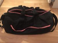 Black and Pink Small Gym Bag