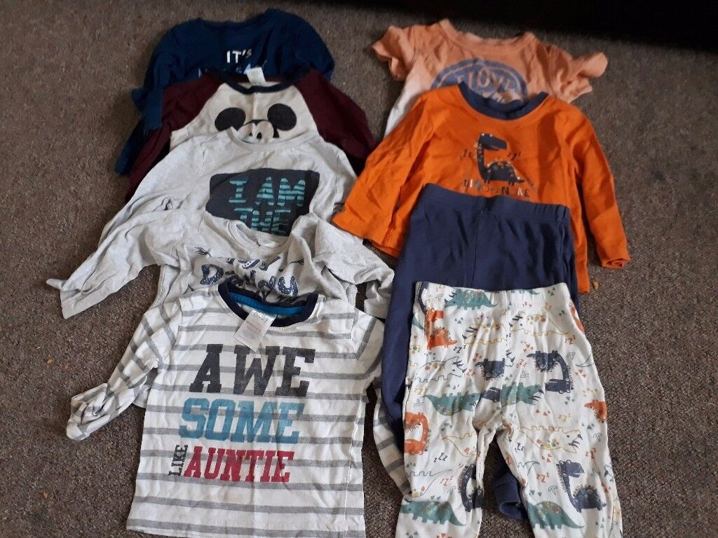 Baby boy clothes size 9-12mths