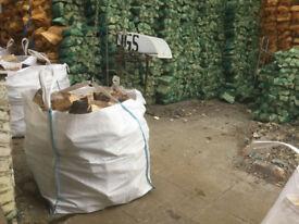 Hardwood Logs well seasoned