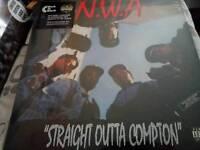Vinyl rap hip hop /nwa
