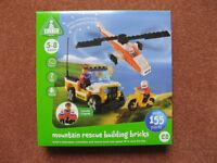 Mountain Rescue Building Bricks BNIB (ELC version of Lego)