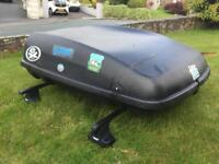 Thule Roof rack and roof box