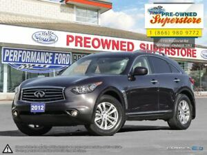 2012 Infiniti FX35 Premium >>>AWD, leather, sunroof<<<