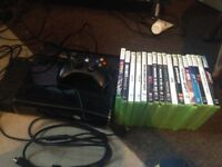 250gb Xbox 360 with 17 games