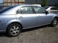 "FORD MONDEO GHIA 16"" ALLOY WHEELS AND TYRES X 4, WITH CENTRE CAPS AND EX TREAD"