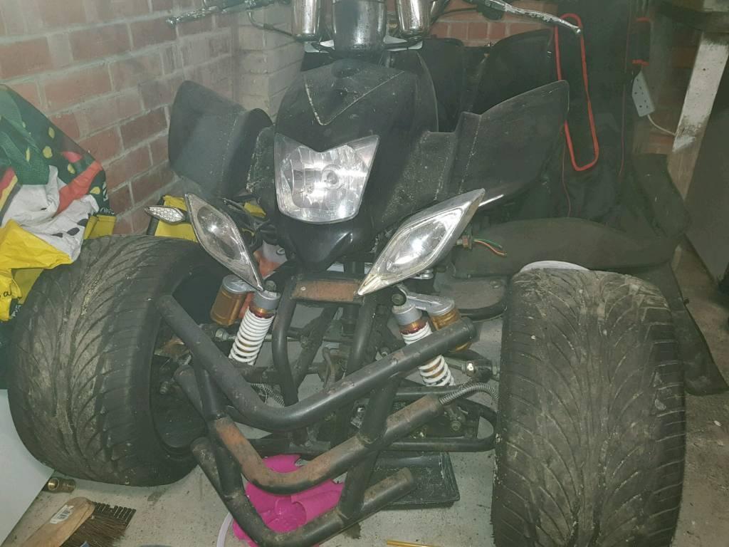 Zongshen 250cc quad. Spares or repair