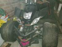 Zongshen 250cc quad. Spares or repair