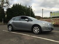 Vauxhall Astra Exclusiv Years Mot Low Miles Immaculate Condition !