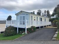 Stunning 2 Bedroom Holiday Home with Sea & Mountain Views, Decking Included. Borth, West Wales.