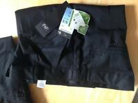 Boys school trousers. New 13-14, 14-15, 15-16. F&F