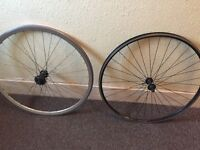 front and back bike wheel bicycle fixie 700c