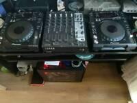 Pioneer CDJ 850 Ks & Ecler Nuo 5 Mixer