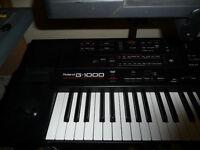 Roland G1000 76 note Arranger Keyboard (RRP £2200)