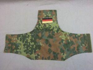 Bundeswehr Armbinde in Flecktarn mit National und Klettverschluss, Neu