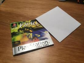 V Rally - PlayStation 1 PS1 Video Game