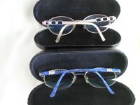 collection of designer glasses