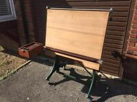 Admel Architects Drawing / Design Table 1930's Vintage Excellent Condition