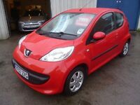 Peugeot 107 Urban,Semi Auto,3 dr hatchback,full MOT,runs and drives as new,low mileage only 35,000