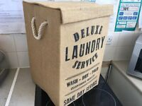 Laundry Basket with Rope Handels