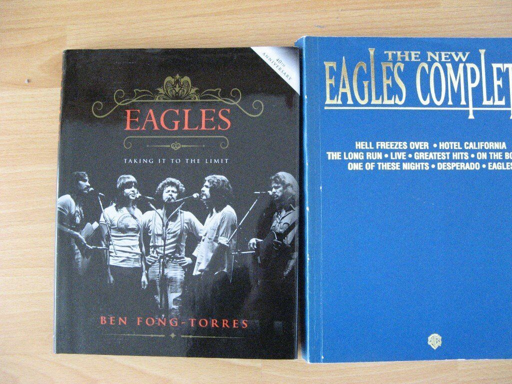 The Eaglesin Southport, MerseysideGumtree - Complete Eagles chord book and Taking it to the limit history of the band, as new. Cost £50 plus. £20 ono