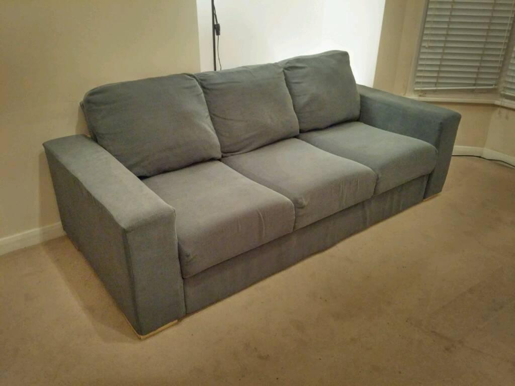 Nabru 3 Seater Flat Pack Modular Sofa