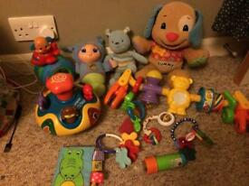 Baby toy bundle vtech fisher price